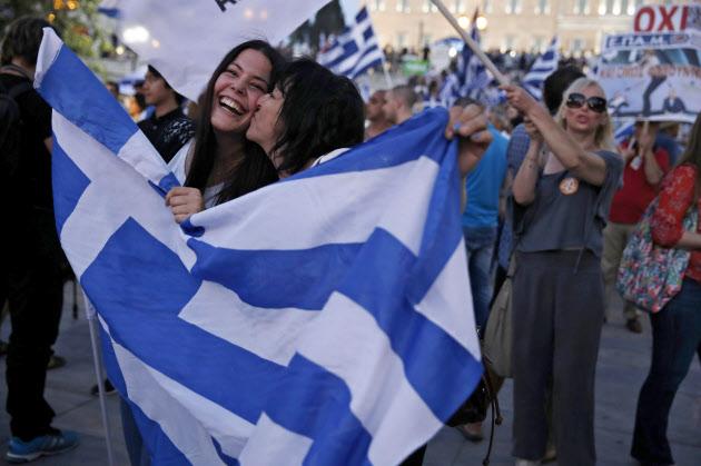 ギリシャ国民投票のイメージ画像