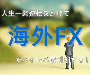 人生を一発逆転するなら海外FXで稼ぐハイレバ取引!100万円を1000万円にする!