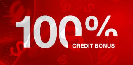 hotforexの100%クレジットボーナス